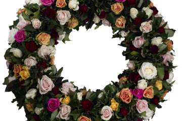# 46 Krans Mix Roses