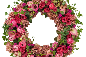 # 47 Krans Mix Flowers